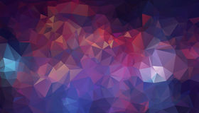 Abstract background consisting of triangles. Illustration Royalty Free Stock Images