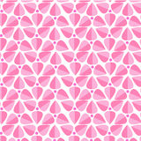 Abstract background consisting of triangles. Pink geometric Stock Images