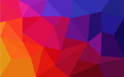 Abstract background consisting of triangles. Vector illustration Stock Photo