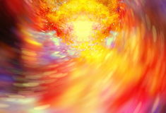 Abstract background with cosmic energy swirling effect, colorful dynamic movement. Abstract background with cosmic energy swirling effect, colorful dynamic stock illustration