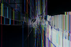 Abstract background Cracked display Royalty Free Stock Photography