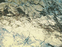 Abstract background of cracked limestone rock structure Royalty Free Stock Photos