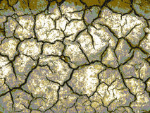Abstract background with cracks on the ground. Gray and brown cracked background of earth Stock Photo