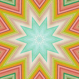 Abstract background. Crazy colorful lines star Royalty Free Stock Photo
