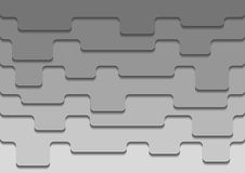 Abstract background. Creative grey background with 3d overlap design Royalty Free Stock Photography