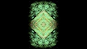 Abstract background , style unique  fractalpsychedelic fantasy kaleidoscope futuristic. Abstract background creative kaleidoscope  futuristic decorative stock video