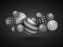 Abstract Background with creative Spheres. Royalty Free Stock Images