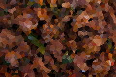 Abstract background of crystallized. Colorful mosaic. Pattern of colorful crystals stock illustration
