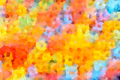 Abstract background of crystallized. Colorful mosaic. Pattern of colorful crystals vector illustration