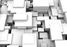 Abstract background - cubes Royalty Free Stock Images