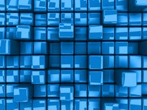 Abstract Background - Cubes. Computer generated image - Abstract Background - Cubes Royalty Free Stock Photography