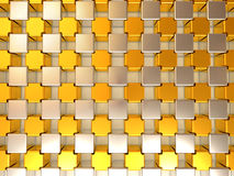 Abstract background. Cubes Royalty Free Stock Photography