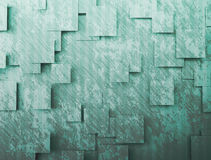Abstract background - cubes. Abstract artistic background shapes and shadow Stock Photo
