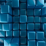 Abstract background of cubes royalty free illustration