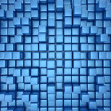 Abstract background of cubes stock illustration
