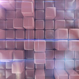 Abstract background of cubes. 3d rendering Royalty Free Stock Images