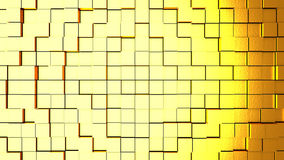Abstract background with cubes. Digital backdrop. 3d rendered Royalty Free Stock Photos