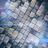 Abstract background of cubes Stock Image