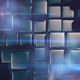 Abstract background of cubes Stock Photos