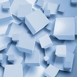 Abstract background with cubes Stock Photo