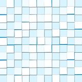 Abstract Background with Cubic Light Blue Blocks. Abstract Background with Cubic Light Blue and white Blocks vector illustration