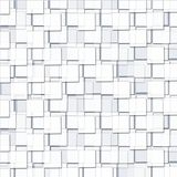 Abstract Background with Cubic White Blocks. Abstract Background with Cubic White and transparency Blocks vector illustration