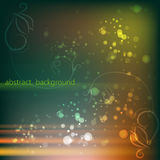 Abstract background with curls,. Vector Royalty Free Stock Photo