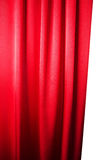 Abstract background, curtain, drapes red fabric. Royalty Free Stock Image