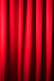 Abstract background, curtain, drapes red fabric. Royalty Free Stock Images