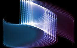 Abstract background of the curve line Royalty Free Stock Photos