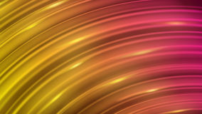 Abstract background of curved lines. With glares in red and yellow colors stock illustration
