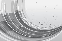 Abstract background with curved lines Royalty Free Stock Images