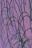 Abstract background with curved lines. Purple abstract background with curved lines Stock Photography