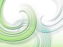 Abstract background with curves. Wallpaper with curves in green Royalty Free Stock Photo