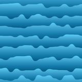 Abstract background of curves as water. Seamless pattern. Vector illustration royalty free illustration
