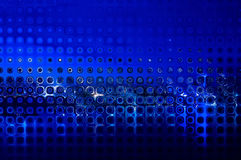 Abstract background curves figures blue Stock Image