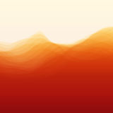 Abstract Background With Curves Lines. Vector Silhouettes Backgrounds. Can Be Used For Banner, Flyer, Book Cover, Poster, Web Banners stock illustration