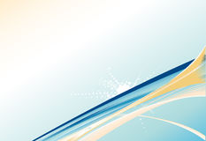 Abstract Background with blue lines. Abstract Background with cyan lines Stock Photo