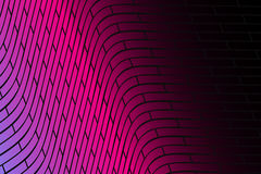 Abstract  background. Cyber grid illustration. Multicolored cell massive Stock Photography