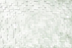 Abstract background of 3d blocks.  royalty free illustration