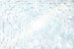 Abstract background of 3d blocks.  Stock Photography