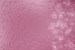 Abstract background of 3d blocks.  Royalty Free Stock Photo