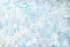 Abstract background of 3d blocks.  stock illustration