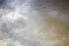 Abstract background of 3d blocks.  Stock Photos