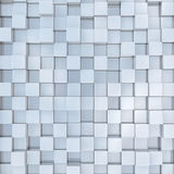 Abstract background. Of 3d blocks Royalty Free Stock Image