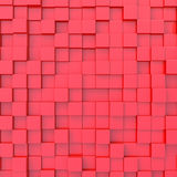 Abstract background. Of 3d blocks vector illustration