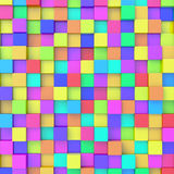 Abstract background. Of 3d blocks stock illustration