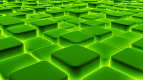 Abstract background of 3d blocks, cubes, box, 3d render Stock Image
