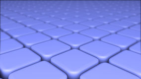 Abstract background of 3d blocks, cubes, box, 3d render Stock Photo