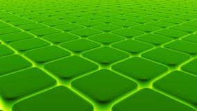 Abstract background of 3d blocks, cubes, box, 3d render Royalty Free Stock Images